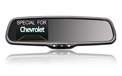 3.5 inch rearview mirror monitor For Chevrolet,AK-035LA06